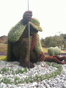 モザイカルチャー「木を植えた男」