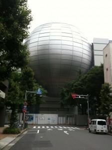 工事中の名古屋市科学館
