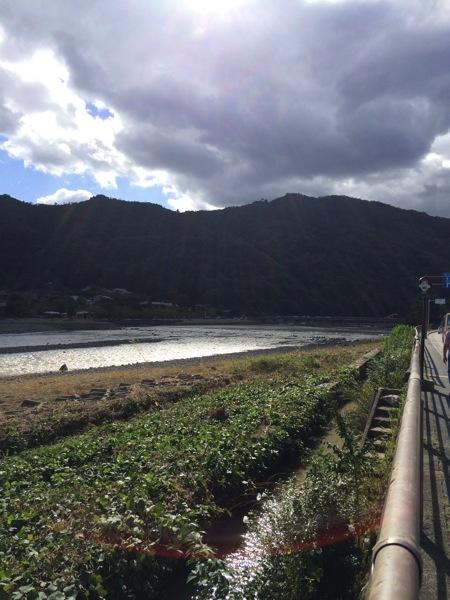 ProCamera 7で撮った桂川