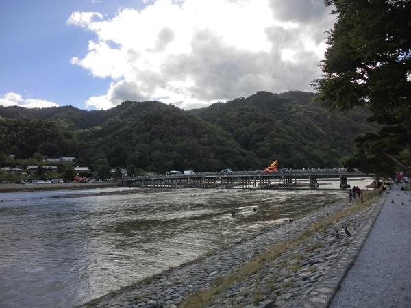 渡月橋遠景