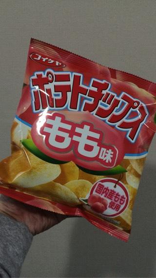 コイケヤ ポテトチップス もも味