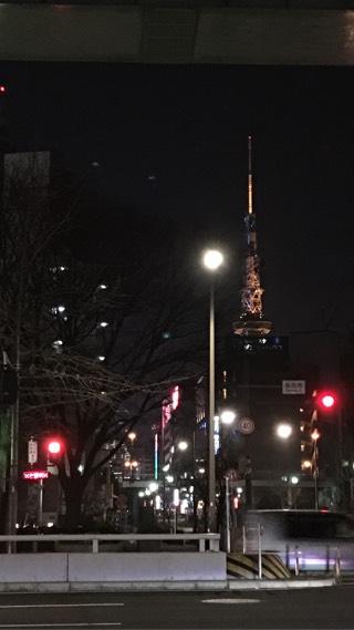 暖かかった名古屋の街