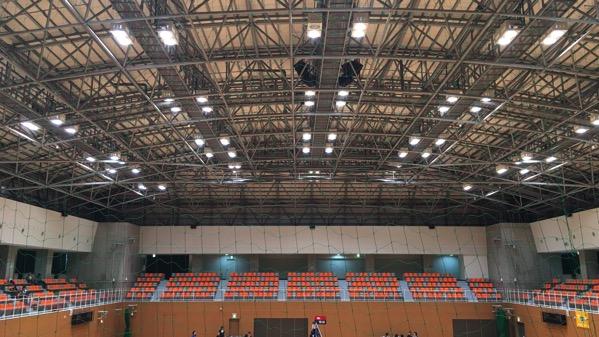 守山スポーツセンターの天井