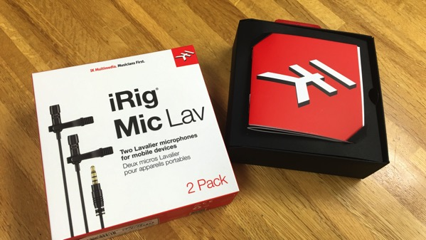 iRig Mic Lav 2Pack