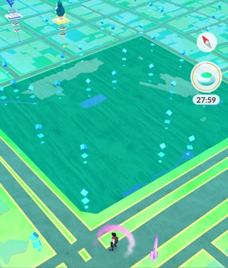 Pokémon GO でみた名古屋・白川公園