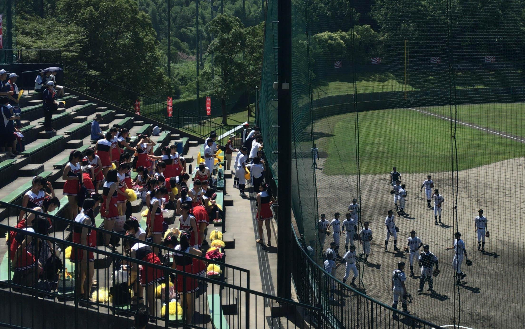 東海学園の高校野球愛知大会の応援