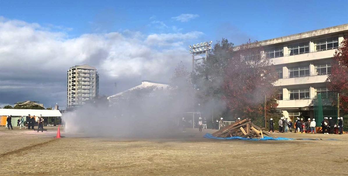 平成29年度東海市総合防災訓練の様子