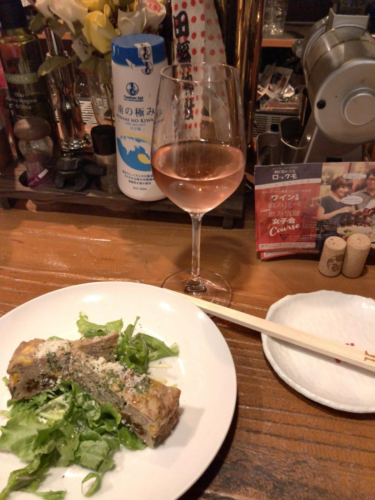 名古屋市中区の文化系飲食店「ボクモ」のワインと料理