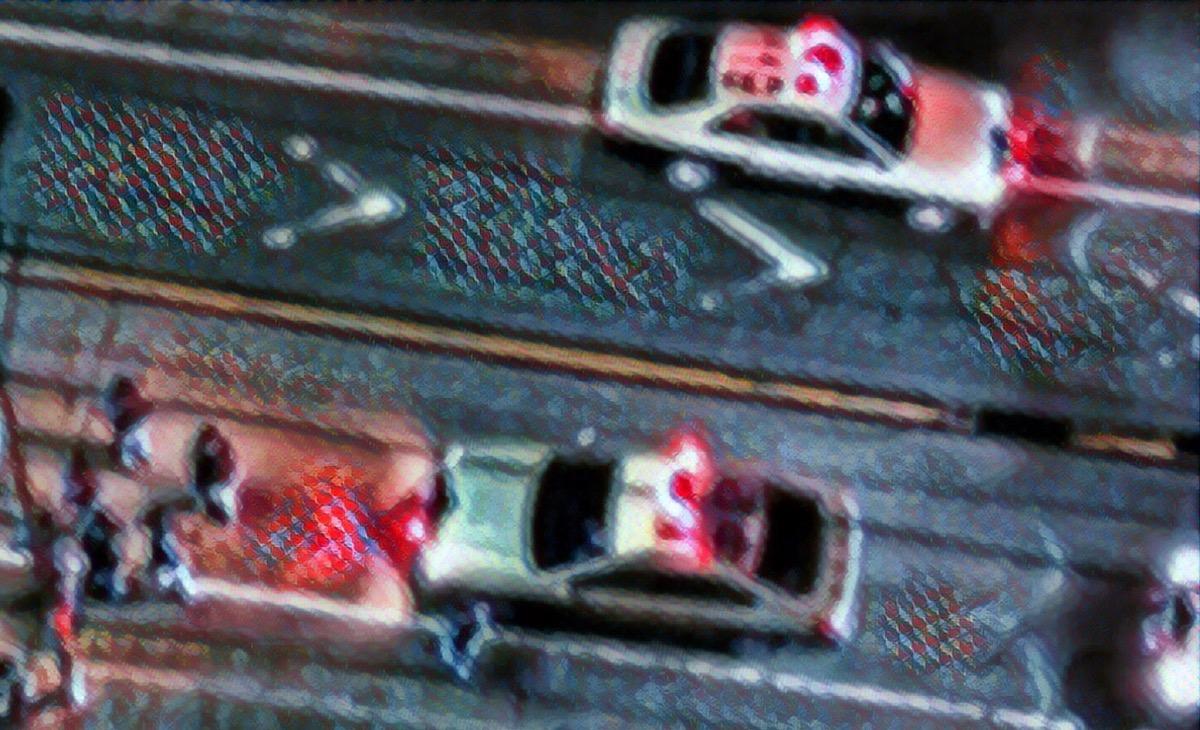 集まるパトカー